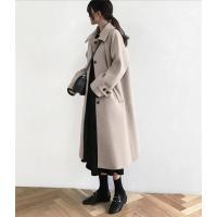 ロングコート レディース フェイクウール コート アウター 可愛い オーバーコート 冬 レディースファッション