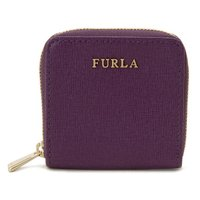 フルラ コインケース 777073 FURLA レザー 小銭入れ パープル ブランド