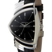 ハミルトン HAMILTON 腕時計 H24411732 ベンチュラ 文字盤:ブラック、ベルト:ブラ...