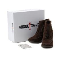 ミネトンカ MINNETONKA ショートブーツ 靴 84016-CHOC22CM 【22cm】  ...