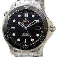 オメガ 腕時計 シーマスター300M クロノメーター SS 自動巻き ブラック 212.30.41....