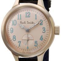 信頼の日本製 ポールスミス 腕時計 PaulSmith 426001 ブラック 革ベルト レディース...