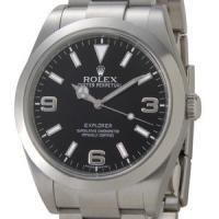 ROLEX ロレックス エクスプローラー メンズ 214270 オイスターパーペチュアル ブラック ...