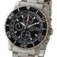セイコー クロノグラフ メンズ 腕時計 海外モデル SNA225P1  フェイス直径:約43mm(リ...