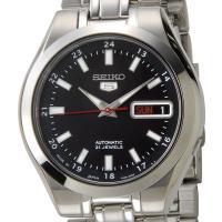 セイコー seiko メンズ腕時計 SNKG23J1 ブラック×シルバー  フェイス(HxWxD):...