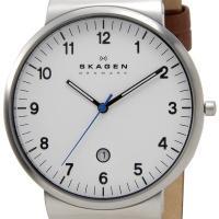 SKAGEN スカーゲン メンズ 腕時計 SKW6082 KLASSIK Leather クラッシッ...
