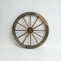 ガーデニング雑貨 車輪 ガーデンウィール  直径45.5×奥行6センチ  木製  置いてあるだけでノ...