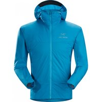 ATOM SL Hoodyは重さわずか261gの超軽量インナージャケットです。  夏場の天候や温度の...