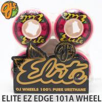 オージェイ エリート イージー エッジ ウィール OJ ELITE EZ EDGE 101A WHEEL スケートボード スケボー ウィール ハード カラー:Pink