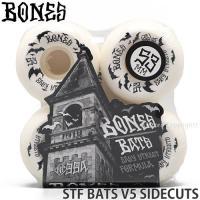 ボーンズ BONES STF BATS V5 SIDECUTS スケートボード スケボー ウィール ストリートテック ハイグレードウレタン 高品質 カラー:White