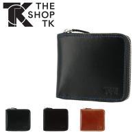 ザ・ショップ・ティーケー 二つ折り財布 スムースヌメ メンズ tst-1059119 THE SHOP TK | ラウンドファスナー 本革 牛革 レザー