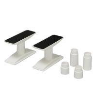 地震での家具の転倒を防いでくれる 突っ張りタイプの家具転倒防止伸縮棒です。 設置面の面積が広いので、...