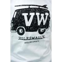 大きめサイズ カットソー 半袖Tシャツ 半袖 VOLKSWAGEN クルーネック メンズ