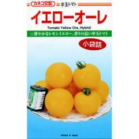 中玉トマトの種 イエローオーレ 20粒