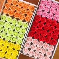 ソープフラワー ヘッド ローズ バラ 材料 花材 花束製作 アートフラワーアレンジメント 造花