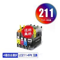即納!1年安心保証!  対応インク型番 LC211BK(ブラック) LC211C(シアン) LC21...