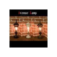 アンティーク調のアベニュー スタンドトランプ♪バルーンです♪ オシャレな外灯風なデザインのスタンドラ...