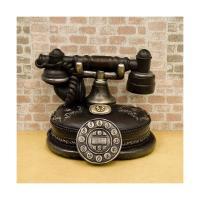 とっても可愛らしいミニチュアアイテム! オールディーズ 電話型 貯金箱です♪ アンティーク感のあるミ...