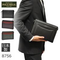 メンズ人気ブランドPOLO FIELD(ポロフィールド)のセカンドバッグ。 いつも持ち歩く貴重品がし...