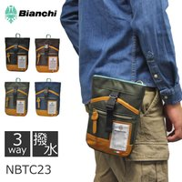 人気ブランドBianchi(ビアンキ)のNBTCシリーズのミニポーチ。 素材は撥水加工に大変優れたポ...