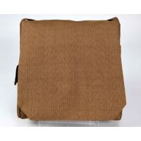 頭陀袋 小型 正絹 茶 日本製 (写真の物をお届け)516_006