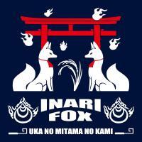 お稲荷さま 長袖Tシャツ | SAKAKI | 狐 神社 鳥居 神道