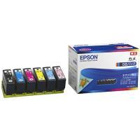 エプソン 在庫あり 全国送料無料 純正 KAM-6CL カラリオプリンター用 インクカートリッジ/カメ(6色パック)