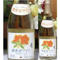 小樽市の花「ツツジ」のイラストがラベルになっています。   北海道産葡萄100% おたる 微発泡ワイ...