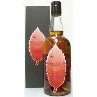 ベンチャーウイスキー。 赤ワインの熟成に使用していた樽をウイスキーの後熟用に 使用したものです。 熟...
