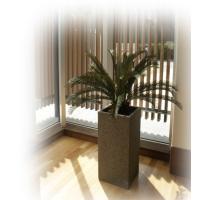 人工観葉植物 アーティフィシャルグリーンアレンジソテツ 鉢付き 幅80cm  rg-007