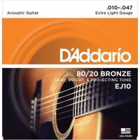 D'Addarioは初めて80/20ブロンズをアコースティックギター弦に採用したパイオニアです。ブラ...