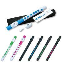 """プラスチック製の楽器""""TOOT""""は、フルートと同じリッププレートを使用して演奏します。本格的な構造な..."""