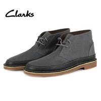 Clarks クラークス   スウェードレザーのアッパーと2eyeのレースアップが特徴です。 フット...