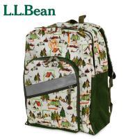 L.L.Bean エルエルビーン  LLビーンの定番バックパック。マチ幅も広く収納力も抜群! 外ポケ...