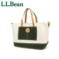 エルエルビーン L.L.Bean  クラシックなデザインのビーントート。大きさも十分にあり収納力も抜...