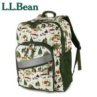 エルエルビーン L.L.Bean  LLビーンの定番バックパック。マチ幅も広く収納力も抜群! 外ポケ...