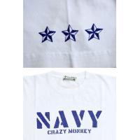 J.P.N MONKEY(NAVY)半袖Tシャツ◆Crazy Monkey