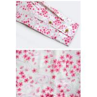 長袖シャツ 流水桜 衣櫻 和柄 和風 送料無料 日本製 さくら サクラ SA1101