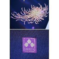 禅×ちきりやコラボ 手描きマキシスカート「兎乱菊」 禅 レディース KLMS0006 チキリヤ 和柄 和風 うさぎ 送料無料