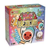太鼓の達人Wii 決定版(太鼓とバチ同梱版)  【商品内容】 箱、取説は欠品の場合がございます。太鼓...