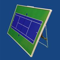 作戦ボード テニス Mサイズ カラー 作戦盤 タクティクスボード