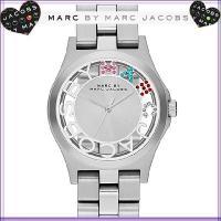 ヘンリーウォッチはマークバイマークジェイコブズの代表的な時計です。 磨き上げたステンレススティールの...