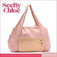 ■商品名:シーバイクロエFANNIE 折りたたみ可能なバッグ ピンク ■素 材:ナイロン、PVC ■...