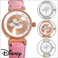 【ゆうパケ可】【disney_y】腕時計 ミッキー Disney ディズニー グリッター ミッキー ...