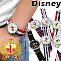 【3周年記念】【ゆうパケ可】【disney_y】【再入荷】ミッキー 腕時計 NATOタイプストラップ...