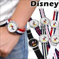 【期間限定セール用PAGE】【ゆうパケ可】【disney_y】ミッキー 腕時計 NATOタイプストラ...