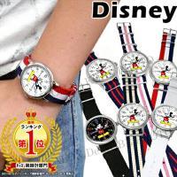 【決算特価】【disney_y】【ゆうパケ発送】  商品名:ミッキー 腕時計 NATOタイプストラッ...