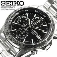 【送料無料】  商品名:SEIKO セイコー 逆輸入 クロノグラフ メンズ 腕時計 ウォッチ うでど...