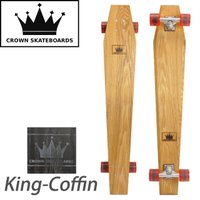 CROWN SKATEBOARDS クラウンスケートボード King-Coffin クルージングボー...