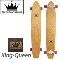 CROWN SKATEBOARDS クラウンスケートボード King-Queen クルージングボード...